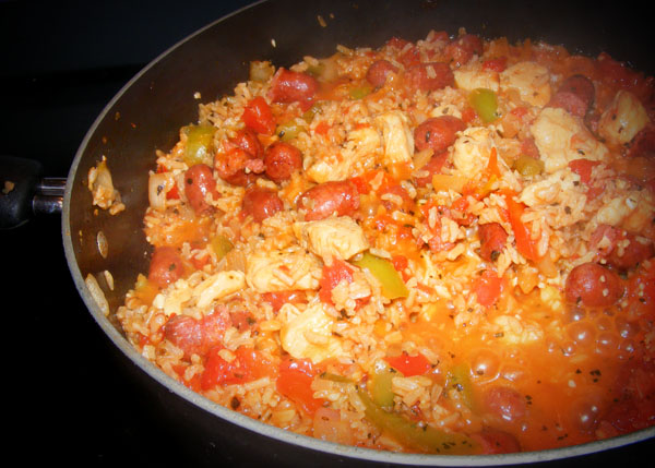 "... old wives' tale about the origin of the word ""jambalaya"