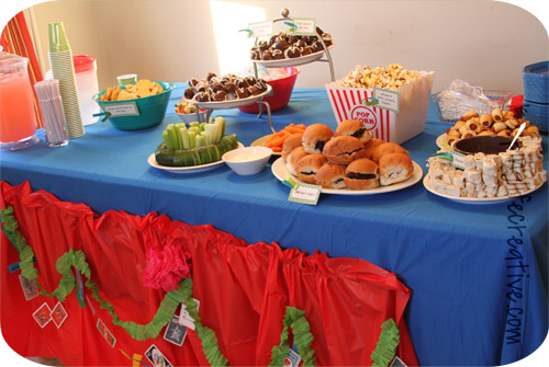 carnival birthday party the food keeping life creative