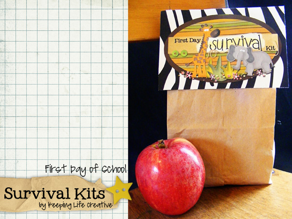 1st Day Of School Survival Kits