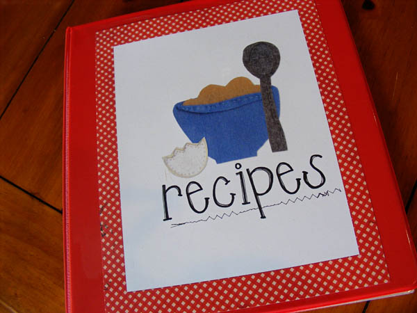 Recipes Cover Page Recipe Binder And