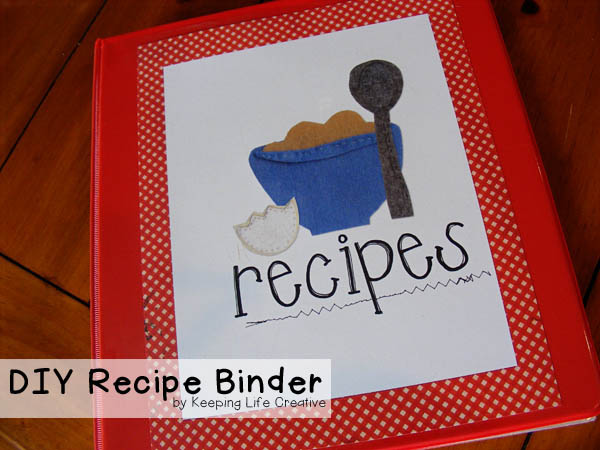 DIY Recipe Binder