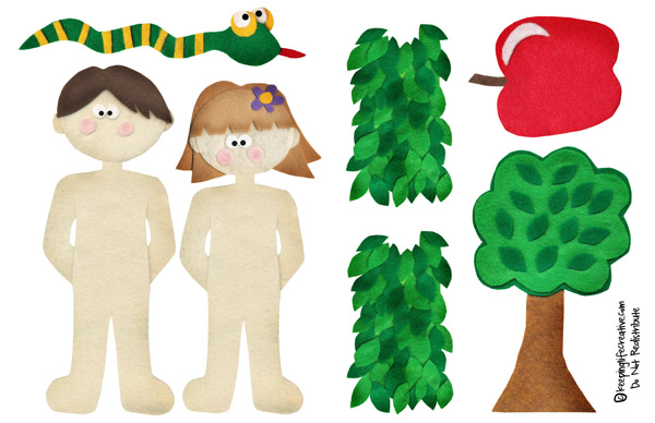 Adam And Eve Crafts For Toddlers