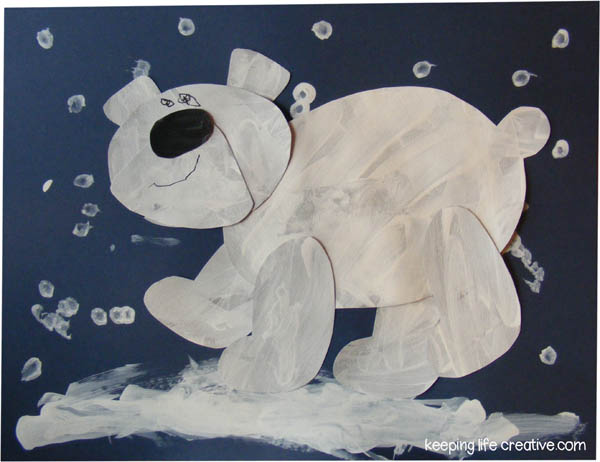 Polar Bear Crafts For Kids