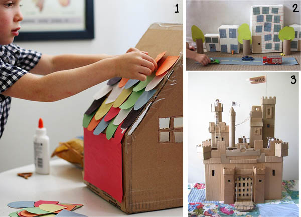 encouraging kids 39 creativity cardboard boxes keeping