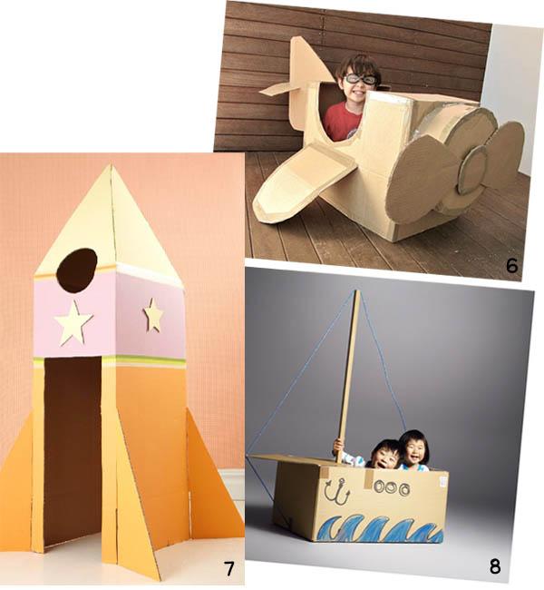 Encouraging Kids 39 Creativity Cardboard Boxes Keeping Life Creative