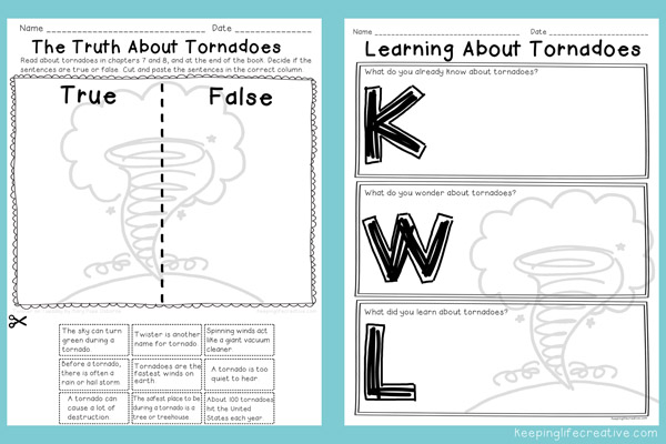 Weather Worksheets - Mrs. Bennett's Fun*Addicts