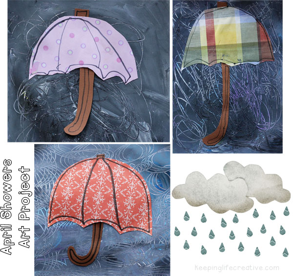 April showers art project