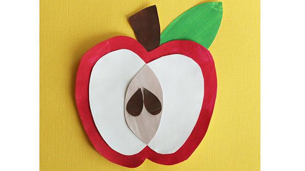 apple picking  apple eating  apple crafting
