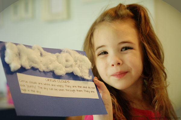 learning about clouds