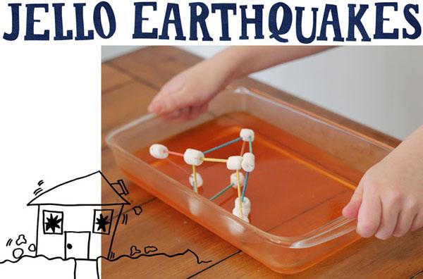 jello earthquakes