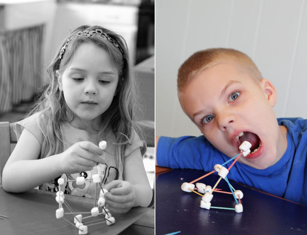 Jellow earthquakes and marshmallow structures