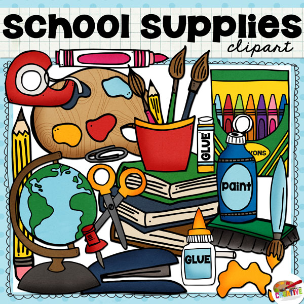 clipart school supplies - photo #50