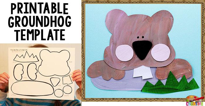 Groundhog Template   Groundhog Day Printable Craft For Kids Keeping Life Creative