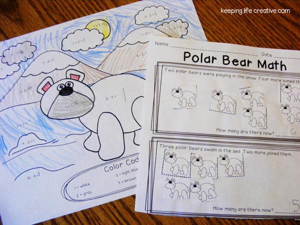Similiar Polar Bear Activities Keywords